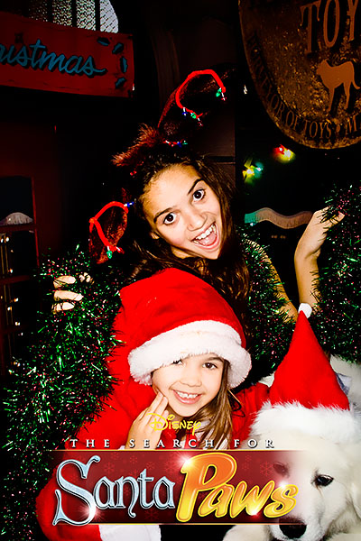 Kaitlyn and big sis Madison Pettis at Disney's