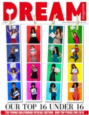 Kaitlyn Featured in Dream Magazine's May 2012 Magazine
