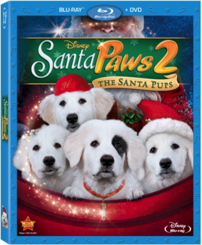 Kaitlyn in Santa Paws 2... out now on BluRay and DVD Combo